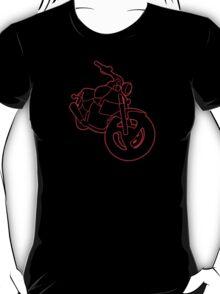 Red Glowing Cruiser T-Shirt