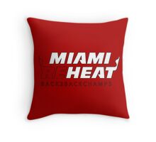 Miami Reheat Stencil Throw Pillow