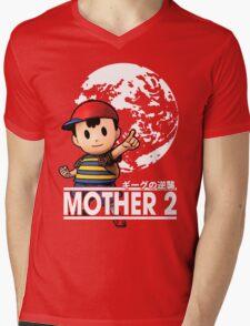 Ness Mens V-Neck T-Shirt