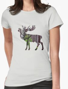 Forest 1 Womens Fitted T-Shirt