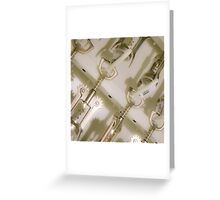 corkscrews Greeting Card