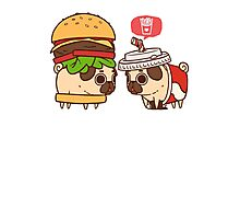 Puglie Burger and Drink Photographic Print