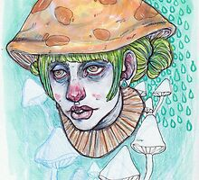 mushroom cap by thesickgirl