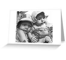 Hugzzzzzzz Greeting Card