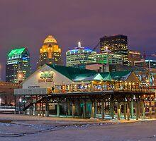 Louisville by Night - Louisville, KY by Howard Simpson