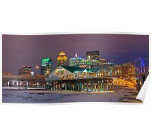 Louisville by Night - Louisville, KY Poster