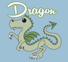 Dragon With Title One Piece - Short Sleeve