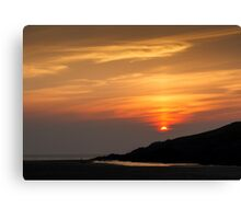 Crantock Bay Canvas Print