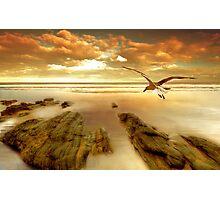 Soft Sunrise on the Beach 4 Photographic Print