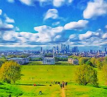 London - Greenwich I by Ricardo Silva