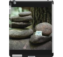 Be yourself - collaboration with Photography by Paloma iPad Case/Skin