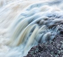 Waterfall Close Up by April Koehler
