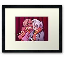 Marik and Bakura Photo Booth Framed Print