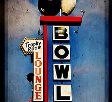 Bowling Sign by Ryan Houston