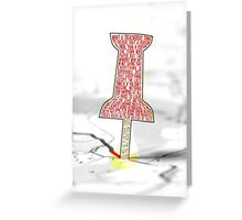 You Will Go To The Paper Towns.. Greeting Card