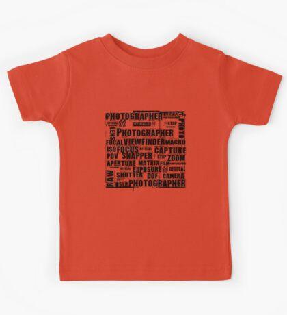 Photographer T-shirt Kids Tee