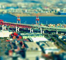 Hanshin Expressway by Christophe Mespoulede