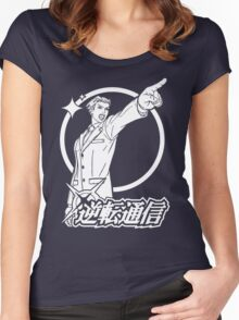 Ace Attorney Women's Fitted Scoop T-Shirt