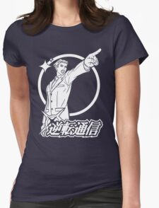 Ace Attorney Womens Fitted T-Shirt