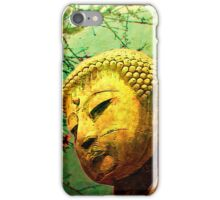 Buddha and Spring Blossoms iPhone Case/Skin