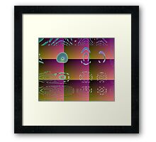 Nine -Available As Art Prints-Mugs,Cases,Duvets,T Shirts,Stickers,etc Framed Print