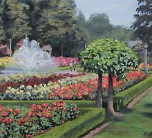 The Rose Garden by Karen Ilari