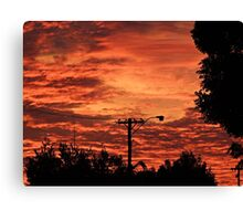 My Sky Canvas Print