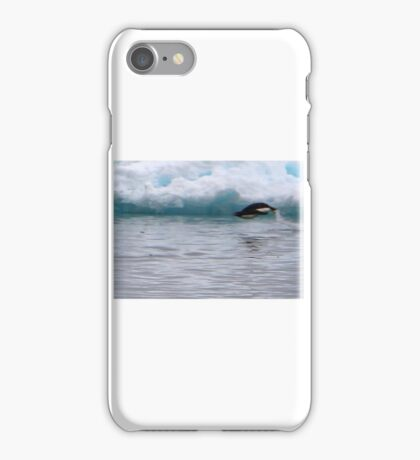 Adelie Penguins in Antarctica,  11  iPhone Case/Skin