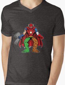 Mashup: Heroes Mens V-Neck T-Shirt