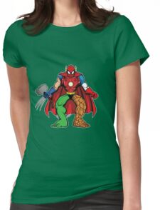 Mashup: Heroes Womens Fitted T-Shirt