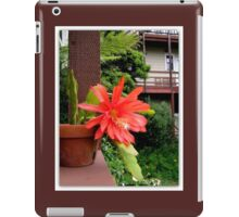Cactus Flower No Frills iPad Case/Skin