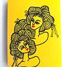 Tiny Diary: Ramen Girls by littlearty