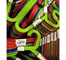 hangers Photographic Print