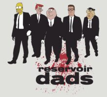 Reservoir Dads (Reservoir Dogs + Family Guy + Simpsons + King of the Hill + Flintstones + Jetsons mashup) by rydrew