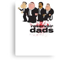 Reservoir Dads v2 | Family Guy | Glenn Quagmire, Peter Griffin, Cleveland Brown, and Joe Swanson Canvas Print