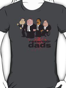 Reservoir Dads v2 | Family Guy | Glenn Quagmire, Peter Griffin, Cleveland Brown, and Joe Swanson T-Shirt