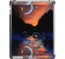 the mystery of mangehelia lake iPad Case/Skin