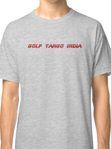 Roger, Golf Tango India Classic T-Shirt