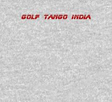 Roger, Golf Tango India Womens Fitted T-Shirt