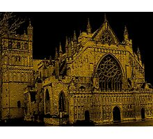 Exeter Church In Southwest England Photographic Print