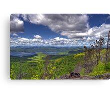 Lake George and the Adirondack's  Canvas Print