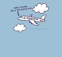 Hello, Carolyn--Colored Womens Fitted T-Shirt