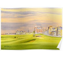 St Andrews Golf Course - 17th Green Poster