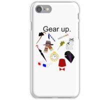 Gear Up. iPhone Case/Skin
