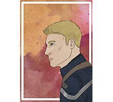 Captain America - Portrait Photographic Print