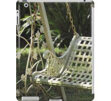 Swing Seat iPad Case/Skin