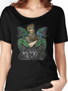 Who's Your Alpha? Women's Relaxed Fit T-Shirt