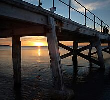 Normanville Sunset by rebecca brace