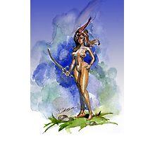 Blue Sword Photographic Print