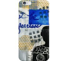 Just Be FEARLESS iPhone Case/Skin